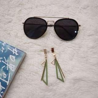 Kalbany Sunglasses & Yellic Earrings