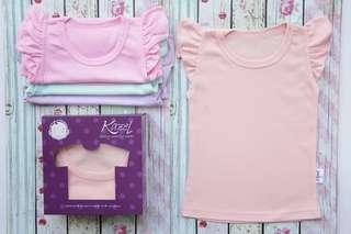 Kazel ruffle shirt (baju baby)
