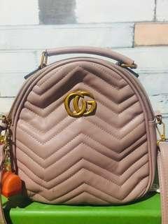 🌺 Nude Pink 4in1 slingbag/backpack/shoulder bag/handbag