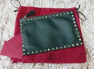 Valentino 'Rockstud' clutch  手拿包 手袋 化妝袋 🈹 母親節 #MTRkt
