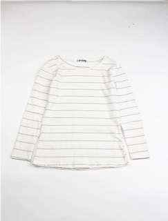White Stripe Top