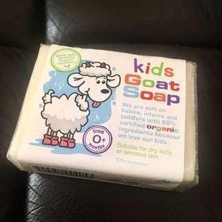 澳洲羊奶皂kids goat soap 全新