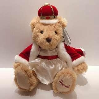 🚚 🇬🇧英國帶回 Harrods  英國百年品牌 泰迪熊 皇室泰迪熊絕對收藏品