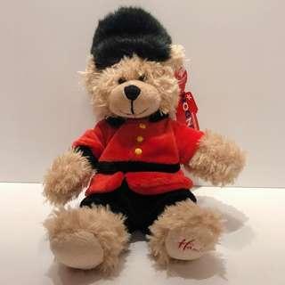 🚚 🇬🇧英國帶回 Harleys  英國百年品牌 泰迪熊 英國衛兵泰迪熊絕對收藏品