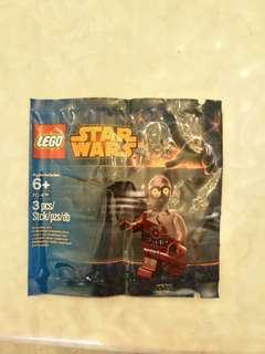 Star Wars Lego minifig TC-4 droid