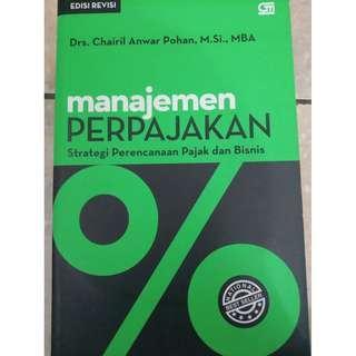 Manajemen Perpajakan by Chairil Anwar Pohan
