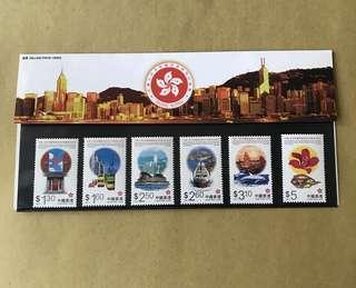香港特區成立紀念郵票