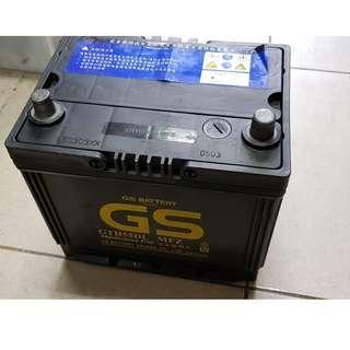 (二手中古電池) GS GTH55DL(55D23L)-MFZ 免保養汽車電池 數值漂亮,品項優