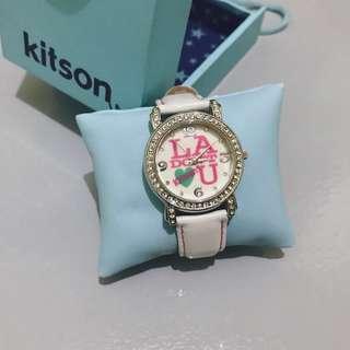 kitson L.A. White Wrist Watch
