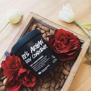 (Free Pos) Lush Ro's Argan Body Conditioner Repackaged Tester / Sample of 50g