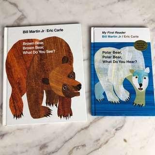 🚚 Eric Carle children books