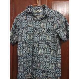 Batik Corak Biru