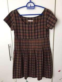 Vintage checkered dress #BlackFriday100