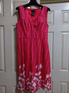 Spense red/fuchsia dress