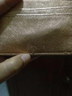 Berskha Card Holder Golden