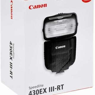 Canon 430EX III-RT Flash
