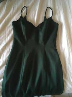 Emerald formal dress