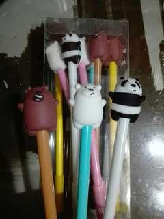 We Bare Bears Ballpens (12pcs)