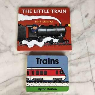 🚚 Children books on Train