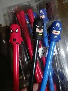 Superheroes Ballpen (12 pieces)