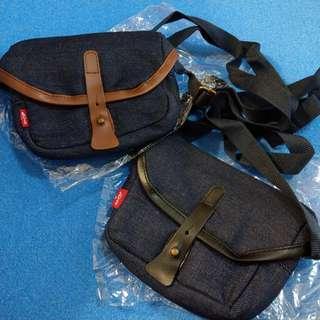 Levi's 雜誌贈品 小斜背袋 相機袋 兩個