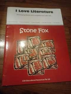 I Love Literature Stone Fox book
