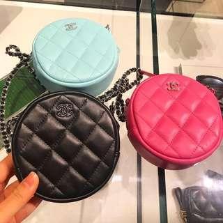 Chanel Coins Chain Bag圓餅包