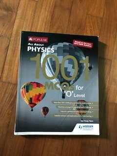 All About Physics 1001 MCQs for 'O' Level