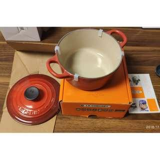 Le Creuset LC 16 Round 圓煲 (Cherry Red)