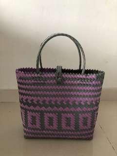 Nylon Stitch Shopping Bag