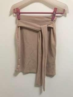 Missguided mini skirt in dusty pink 半截裙 英國