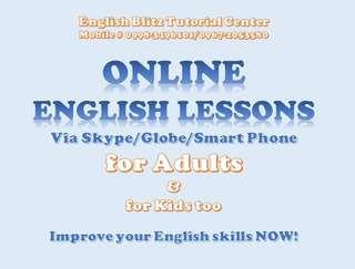 Online English Lesson