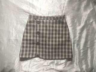 🌺 Plaid Skirt