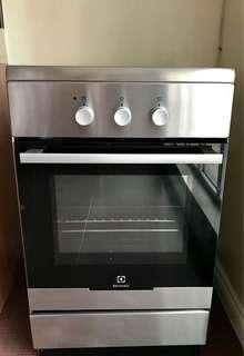 Electrolux 3 Induction Zone Cooker