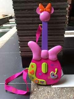 Gitar Anak Pink Disney