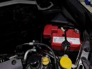 Forester replace totachi efb battery