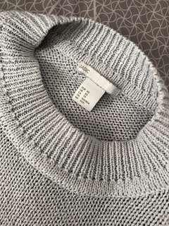 Grey knit wear