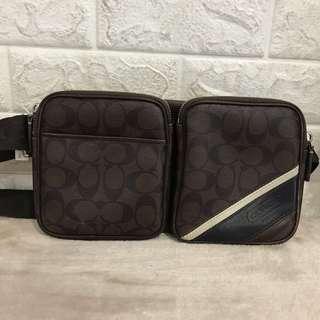 Coach pouch bag