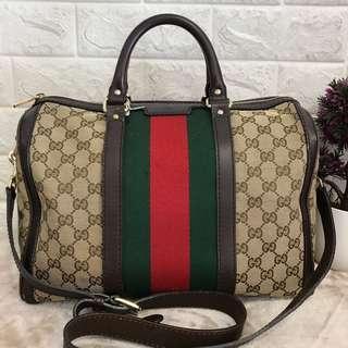 Gucci Boston Bag long starp sling