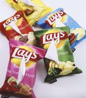 Lays tissue cover
