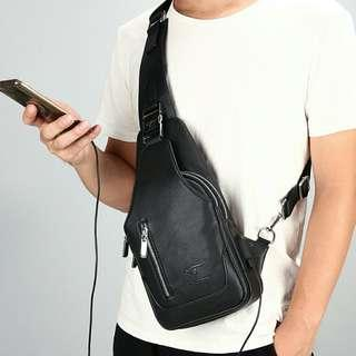 Hickson Kangaroo Porch Bag( Anti theft)