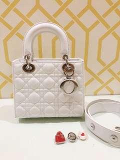 White Lady Dior Bag