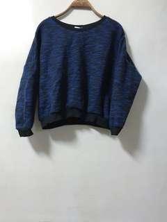 🚚 復古拼色毛衣