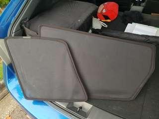 Subaru sti hatch back sunshade
