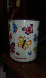 Butterfly Canister Tupperware