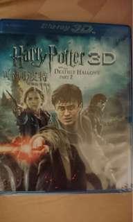 全新 Blu-ray 3D Harry Potter 哈利波特