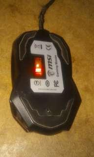 🚚 Mouse MSI gaming
