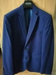 Burton Menswear suit slim fit (blue)