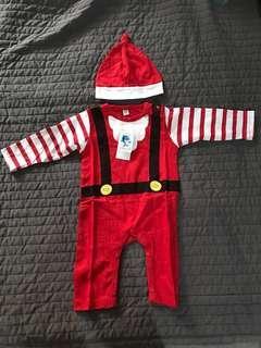 Santa's Clause Romper