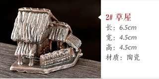 【現貨】吸水石 上水石 假山盆景 小擺件 配件 魚缸 微景觀 造景 天然石頭 裝飾 陶瓷 迷你陶瓷裝飾